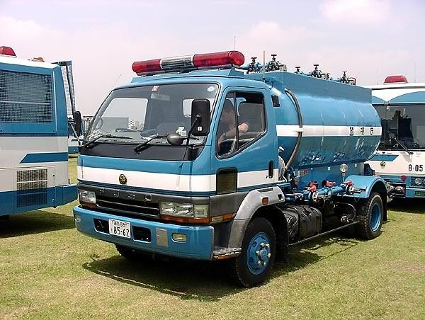 Japanisches Dekontaminationsfahrzeug