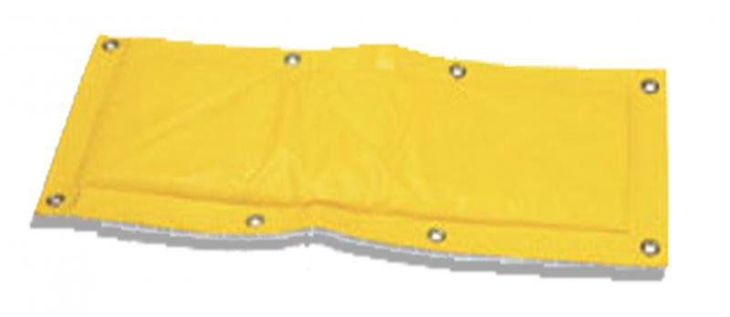 Decke mit Bleieinsätzen zum Schutz vor radioaktiver Strahlung